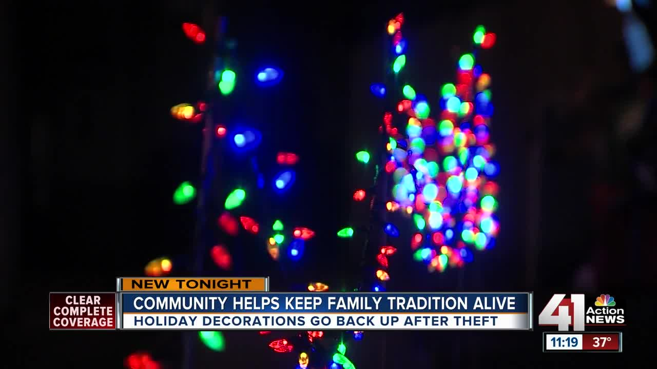 """KC family learns """"what Christmas is all about"""""""