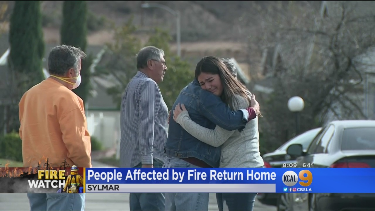 As Creek Fire Reaches 95 Percent Containment, Residents Taking Destruction 'All In Stride'