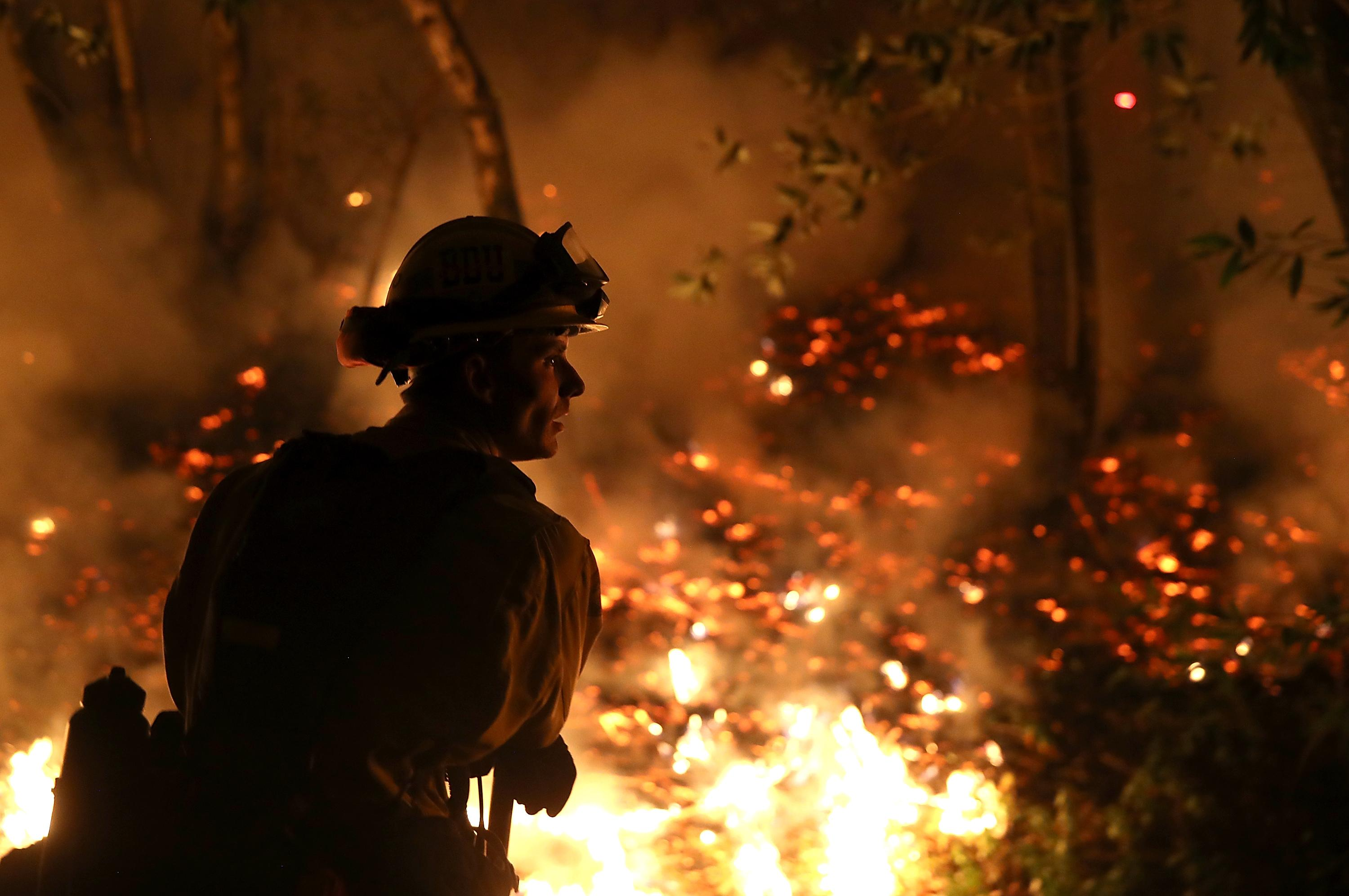 California's Thomas fire is now the state's fifth-largest wildfire