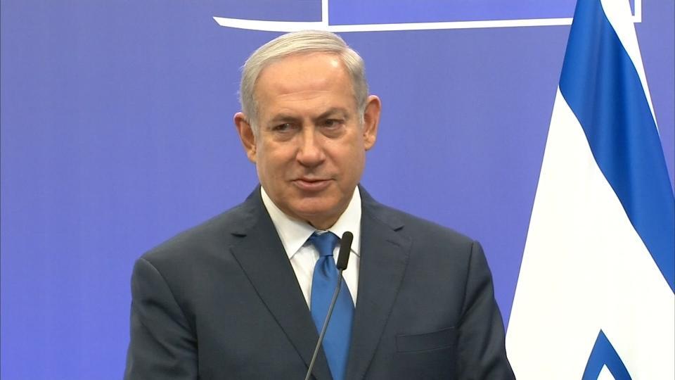 Netanyahu sees Europeans following Trump on Jerusalem