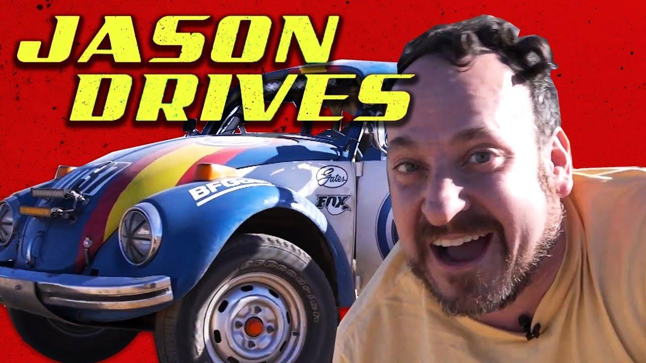 What It's Like to Drive a Badass, Off-Road VW Beetle Racecar | Jason Drives