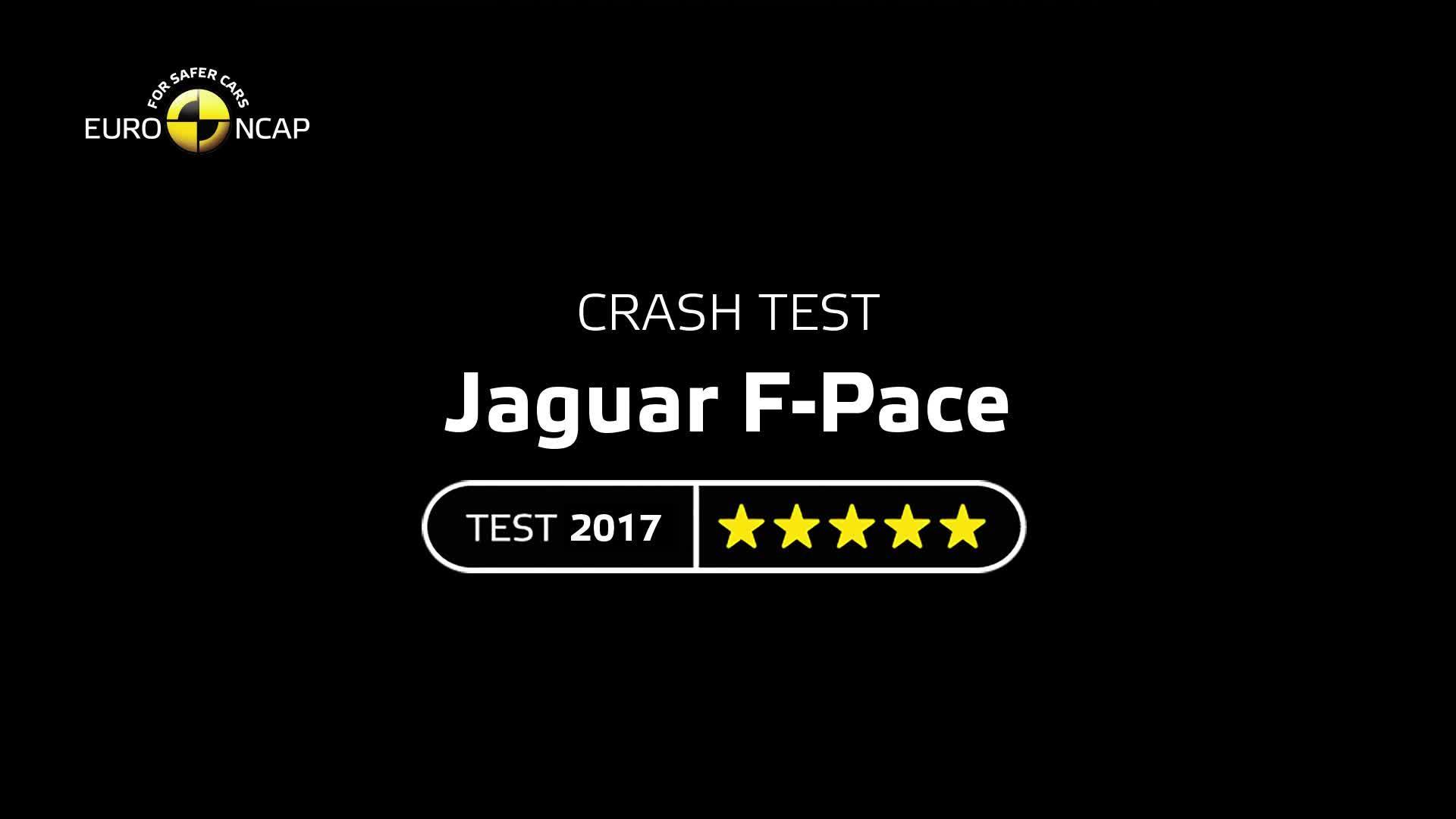 Jaguar F-Pace - Crash Tests 2017