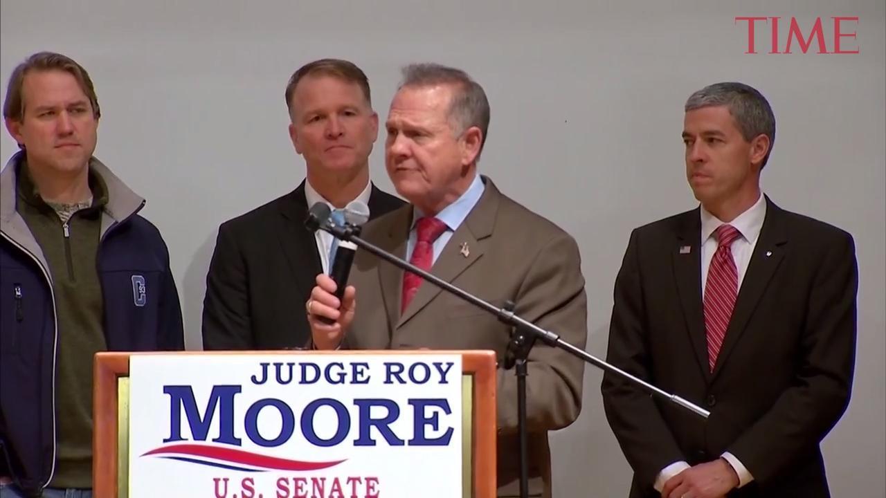 'It's Not Over.' Roy Moore Won't Concede the Alabama Senate Race to Doug Jones