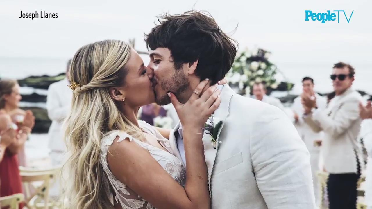 The Adorable Reason Kelsea Ballerini and Morgan Evans Ended Their Wedding Ceremony with Tequila Shots