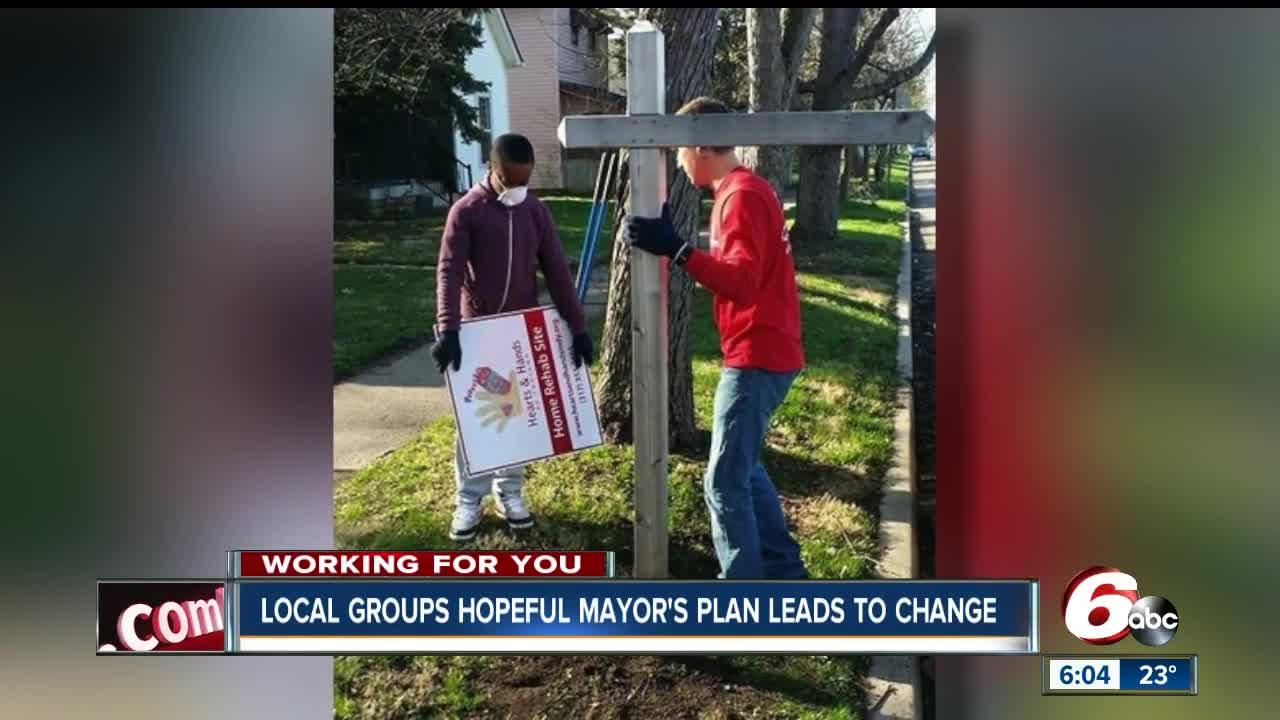 Community groups hopeful that violence reduction plan money will affect real change in Indianapolis