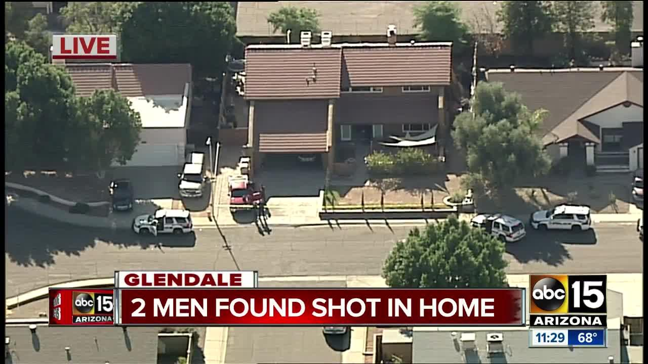 Police: Two men shot in Glendale, one with serious injuries
