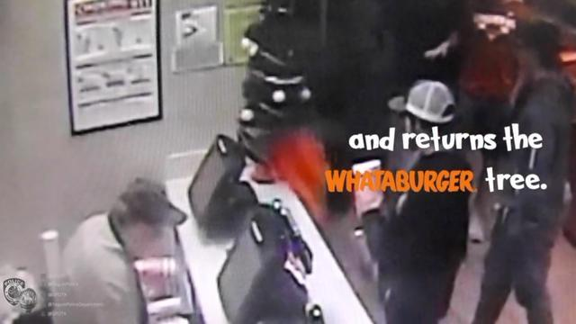 Police Announce Fate Of Grinch Who Stole Tree From Whataburger