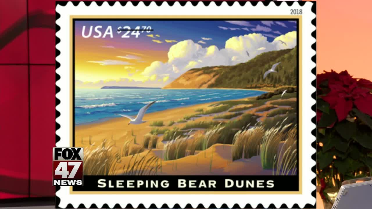 Postage stamp to honor Sleeping Bear Dunes lakeshore in 2018