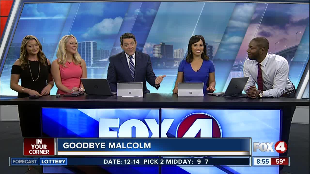 Fox 4 says farewell to reporter Malcolm Johnson