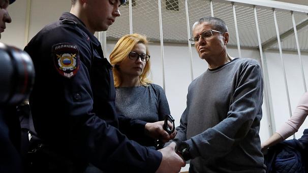 Ex-Wirtschaftsminister Uljukajew der Korruption schuldig gesprochen
