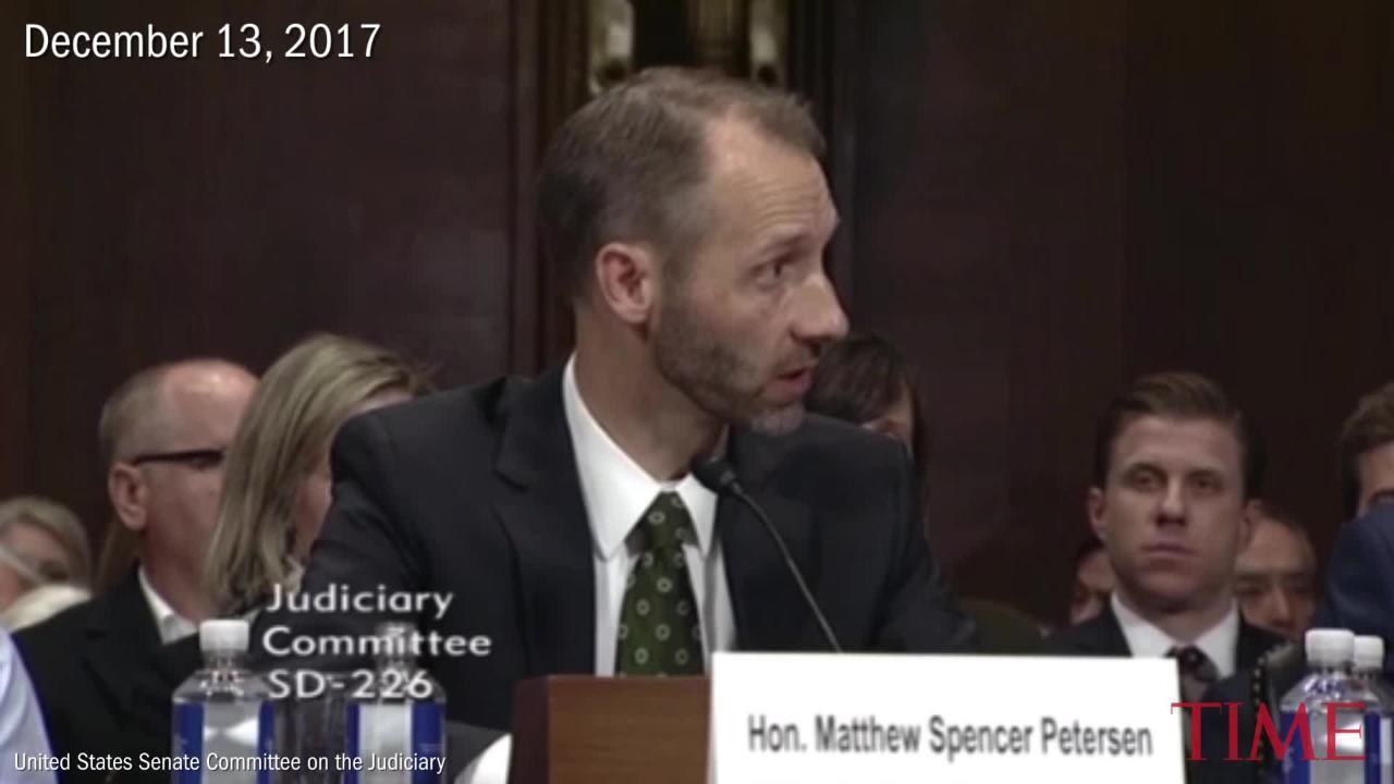 A Trump Judicial Nominee Couldn't Answer Basic Questions About The Law