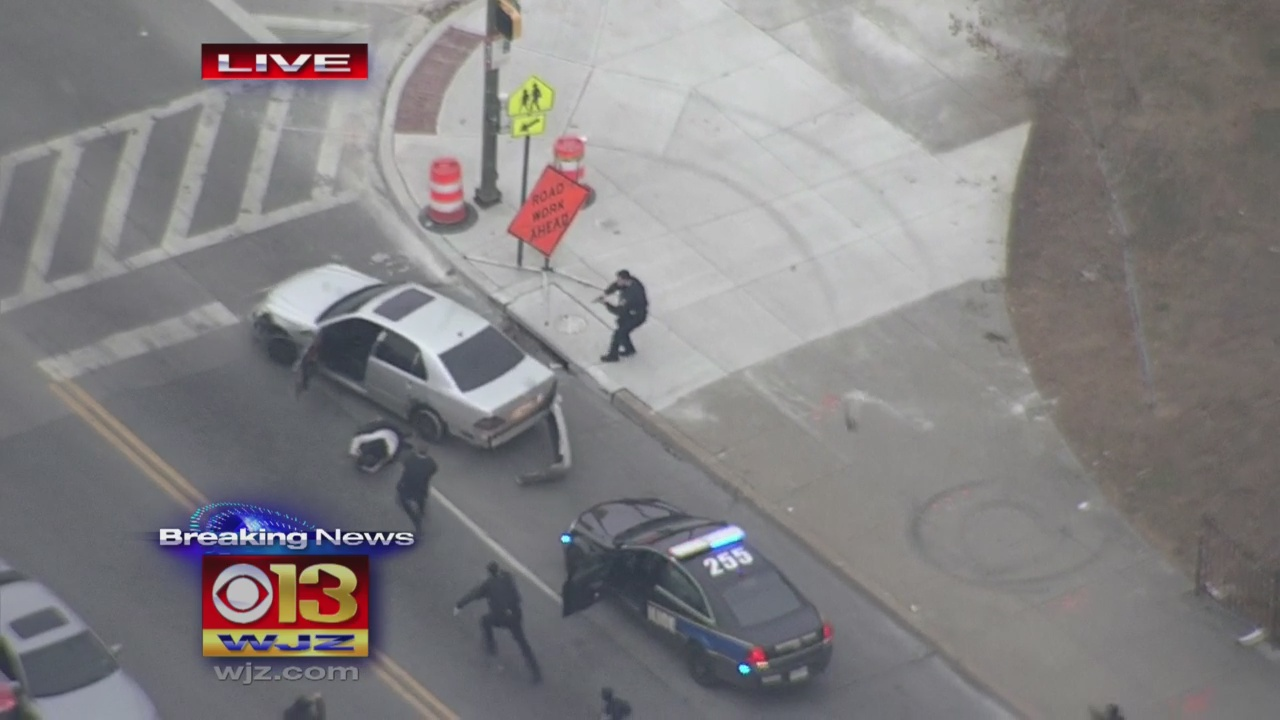 Baltimore Police Arrest Shooting Suspect After Pursuit Throughout City