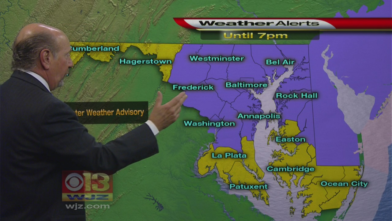 Marty Bass Has Your Mid-day Weather Forecast