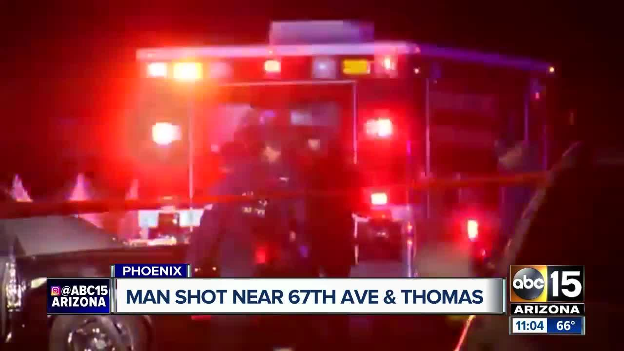 Man seriously hurt after shooting in Phoenix