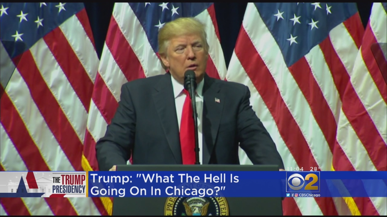Trump Slams Chicago Crime Again: 'What The Hell Is Going On?'