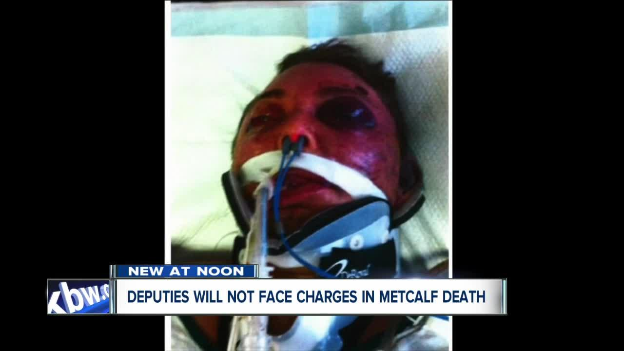 Erie County deputies will not face charges in controversial Metcalf death