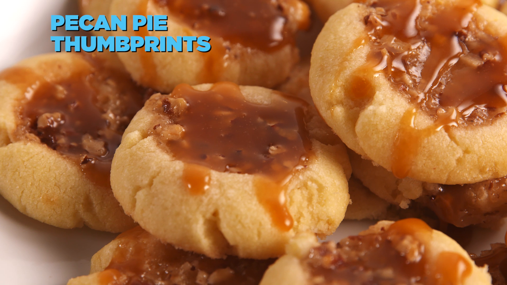 Pecan Pie Thumbprints Are Even Better Than The Classic Pie