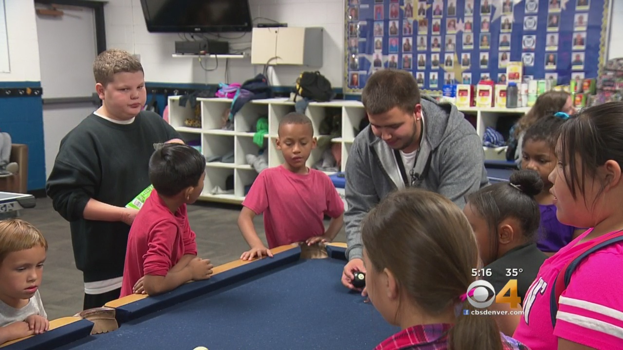Boys & Girls Club Mentor Strives To Be Role Model For Kids