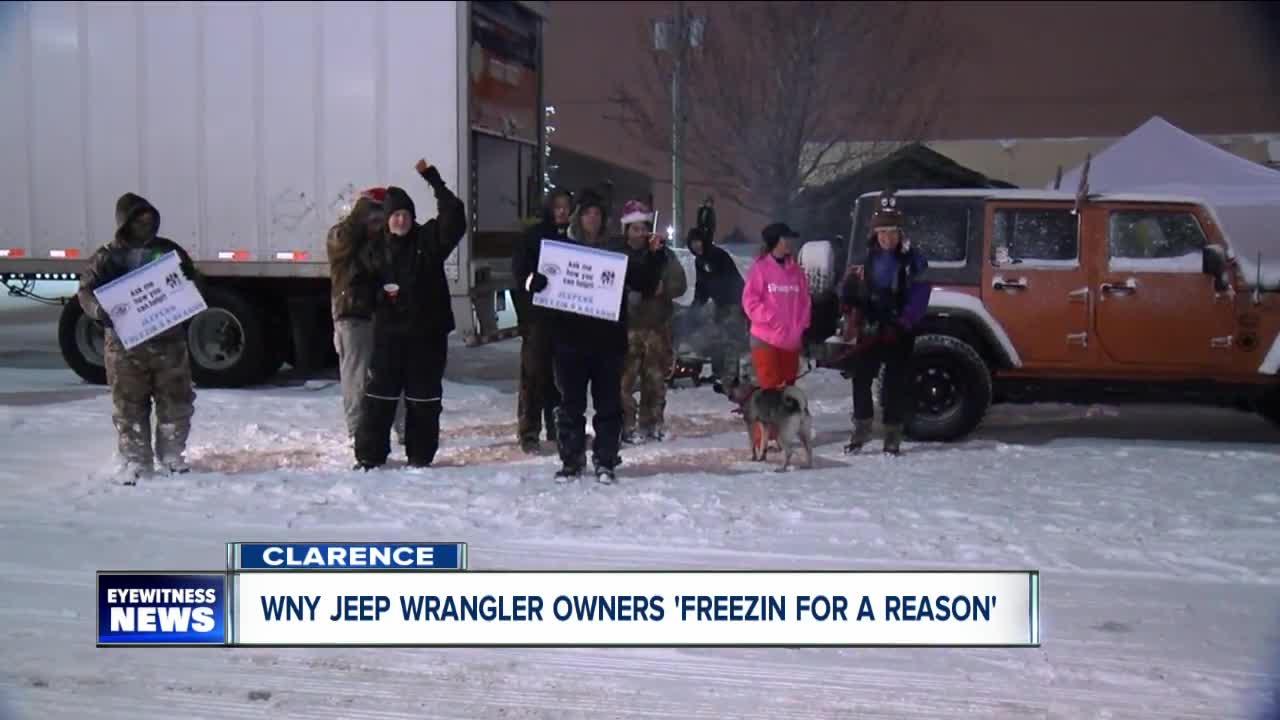 WNY Jeep Club is freezin' for a reason