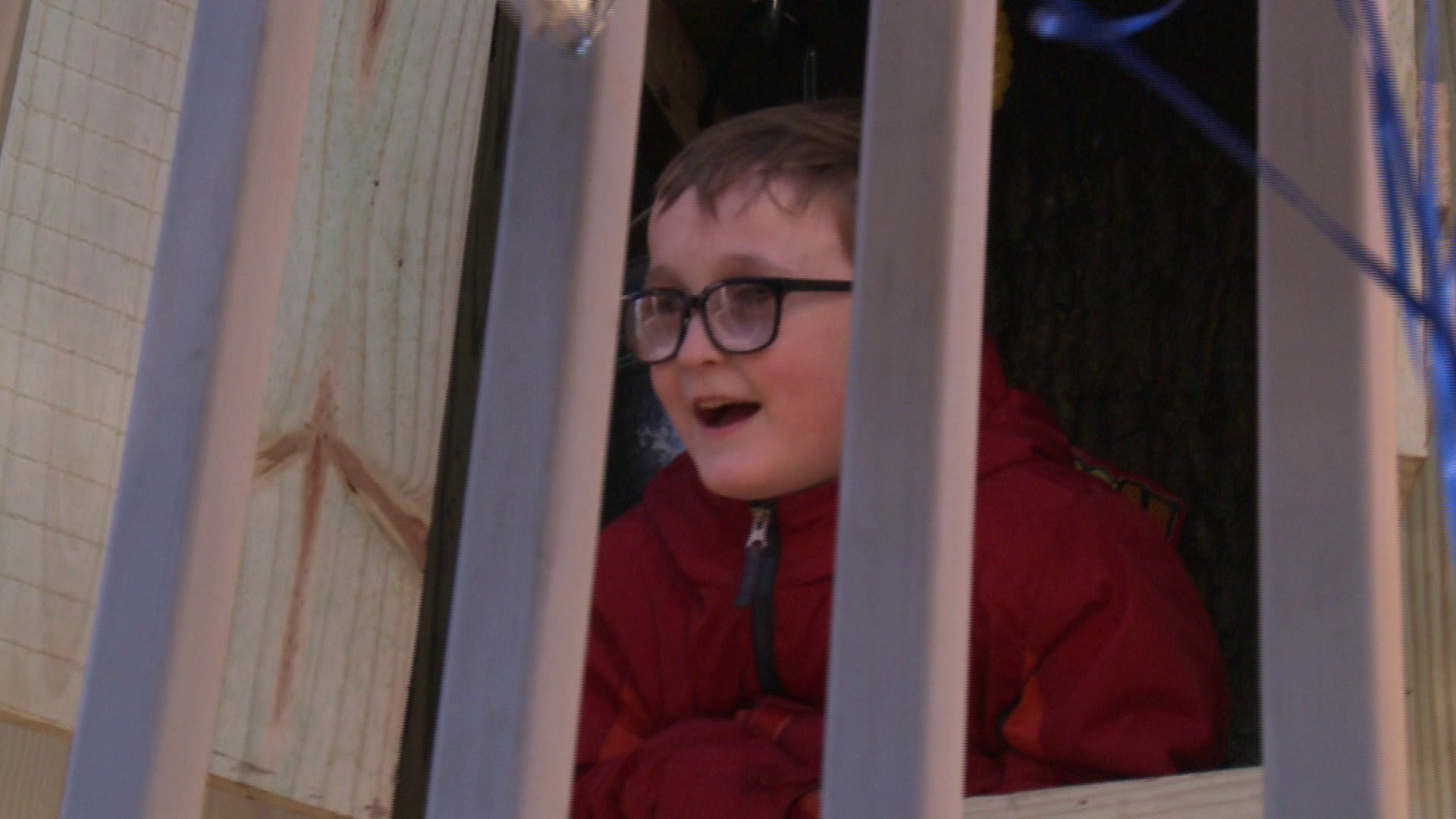 Seven-Year-Old Battling Brain Cancer Gets Surprised with Tree House