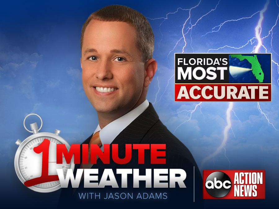 Florida's Most Accurate Forecast with Jason on Saturday, December 16, 2017