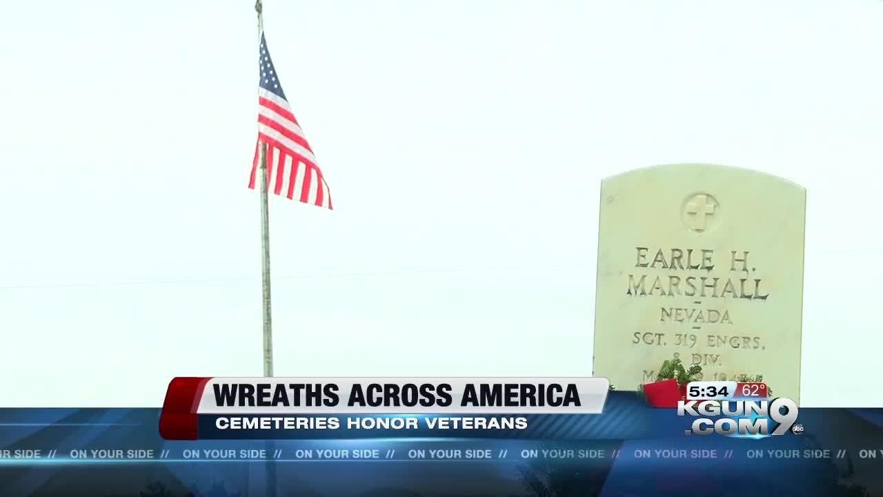 Wreaths across America ceremony held in Tucson