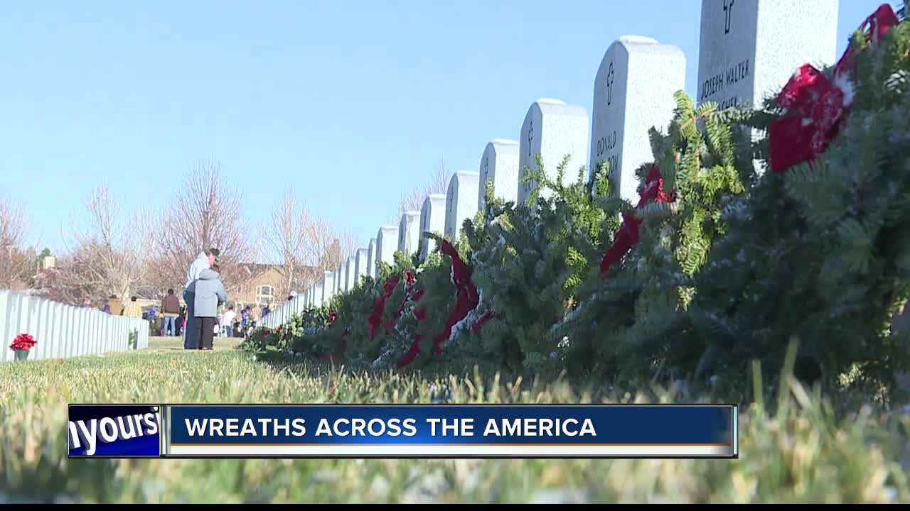 Wreaths Across America honors heroes at their final resting place