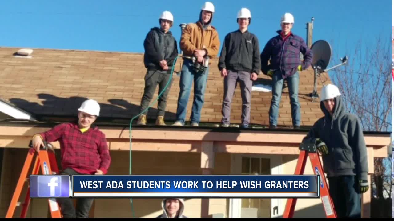 West Ada Students make a Nampa man's wish come true with Wish Granters