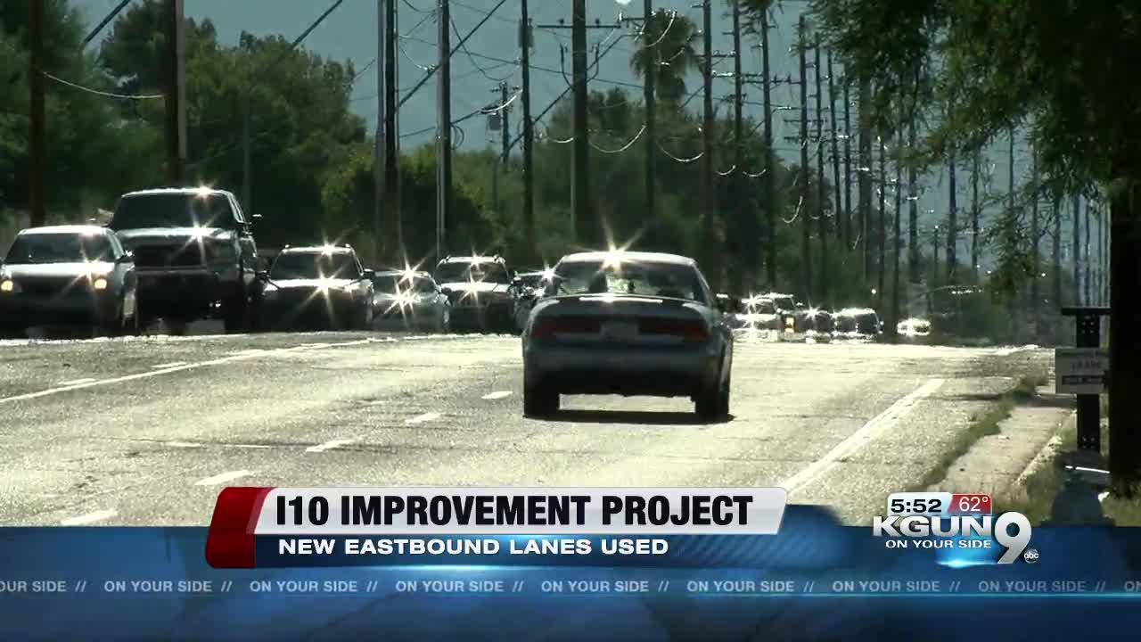 Weekend traffic shifts planned for I-10, Ina Road project