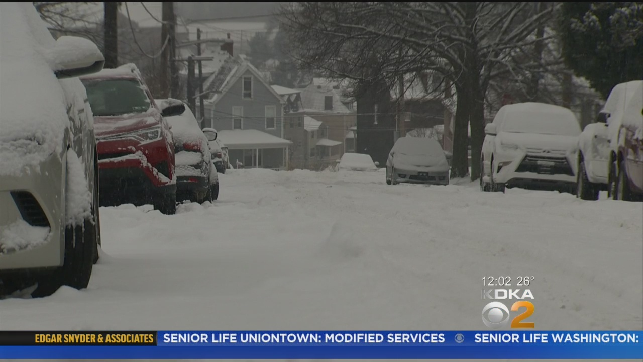 Peduto: City 'Clearly' Needs To Do Better Job Removing Snow, Treating Roads