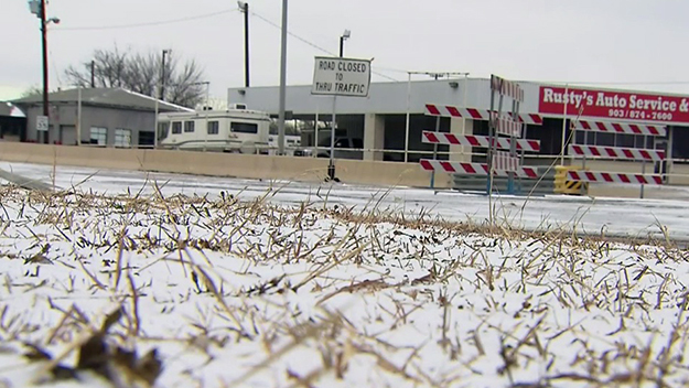 Icy Roads To Blame For Car Crashes In Corsicana