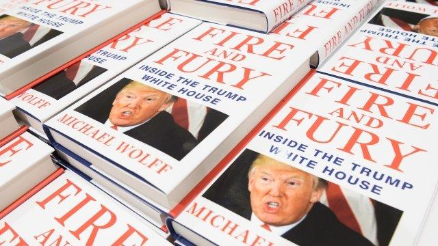 Michael Wolff's 'Fire and Fury' Could Become a TV Show