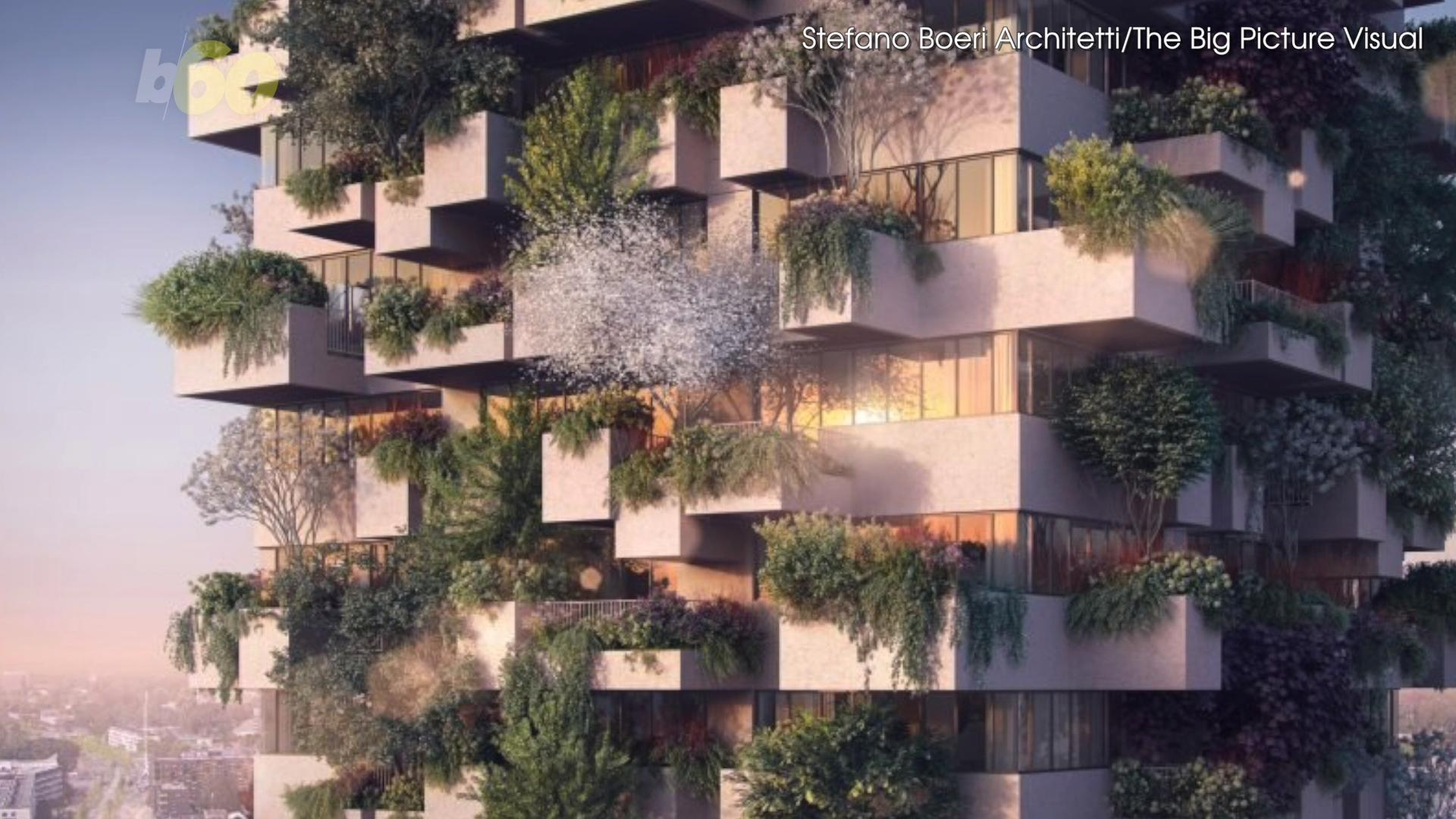 Netherlands to Build Affordable Housing with a Vertical Forest