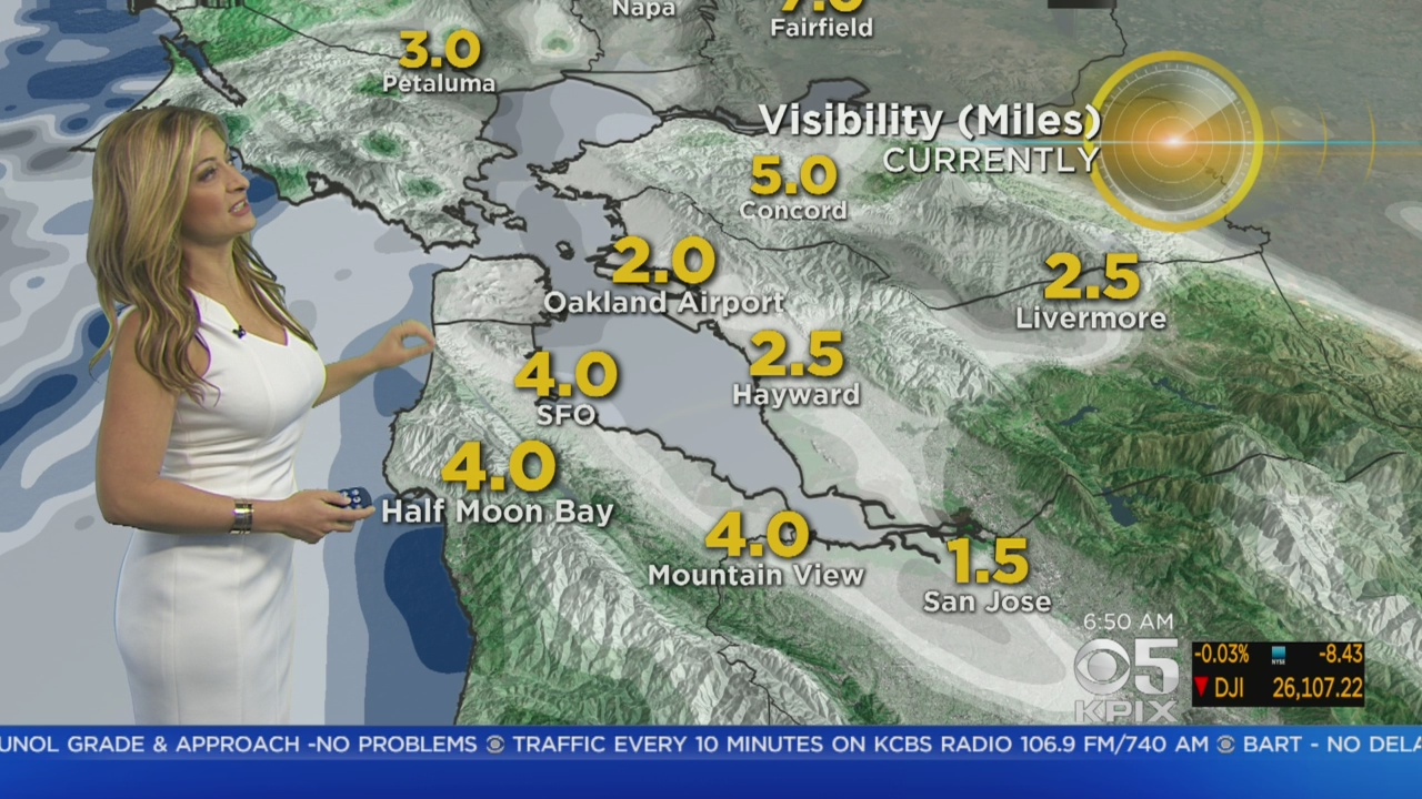 STORM WATCH: Here's the latest on today's storm front from the KPIX 5 Weather Team
