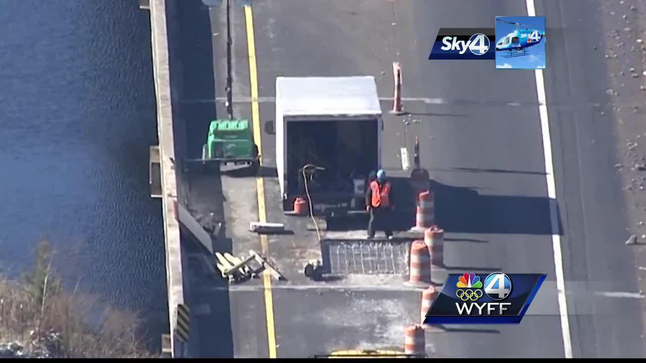 I-85 bridge in Anderson County partially fails