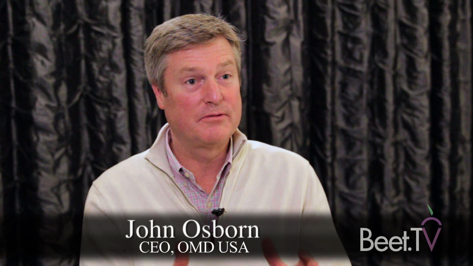 From Creative To Media Brings OMD's John Osborn 'Closer To The Customer'