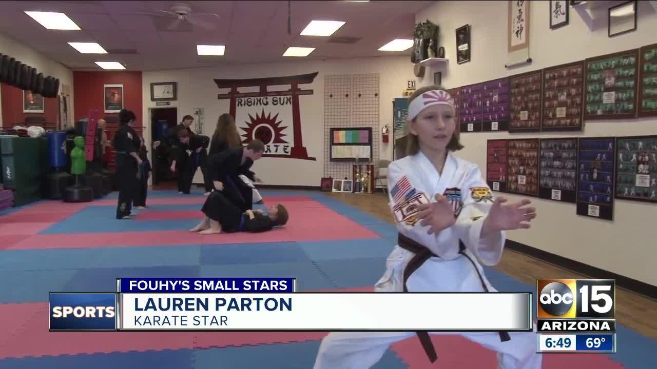 Meet this 10-year-old karate phenom