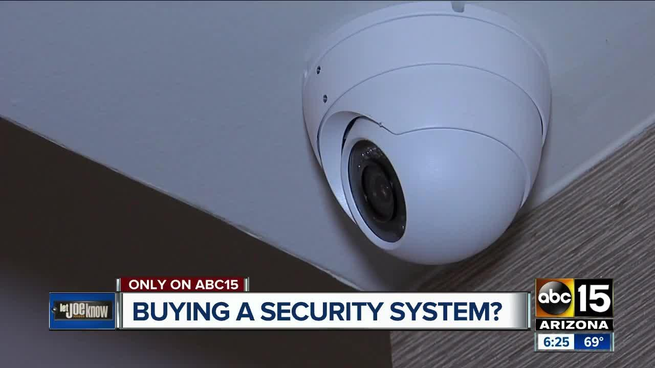 Let Joe Know: Advice before buying a home security system
