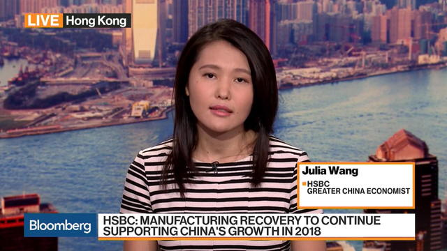HSBC's Wang Says China's Growth Picture Is Robust