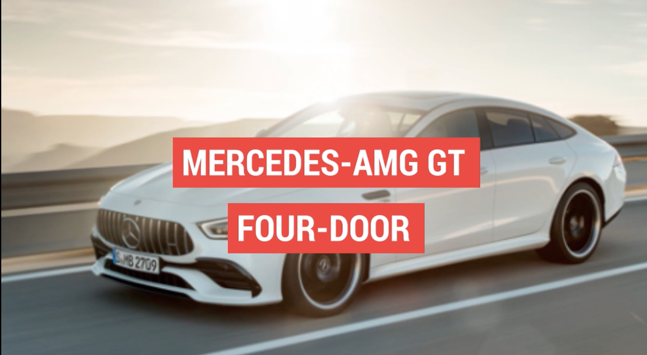 Mercedes AMG GT 4 Door and CLS are similar but different Autoblog