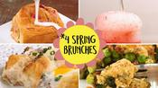 4 Spring Brunches Compilation