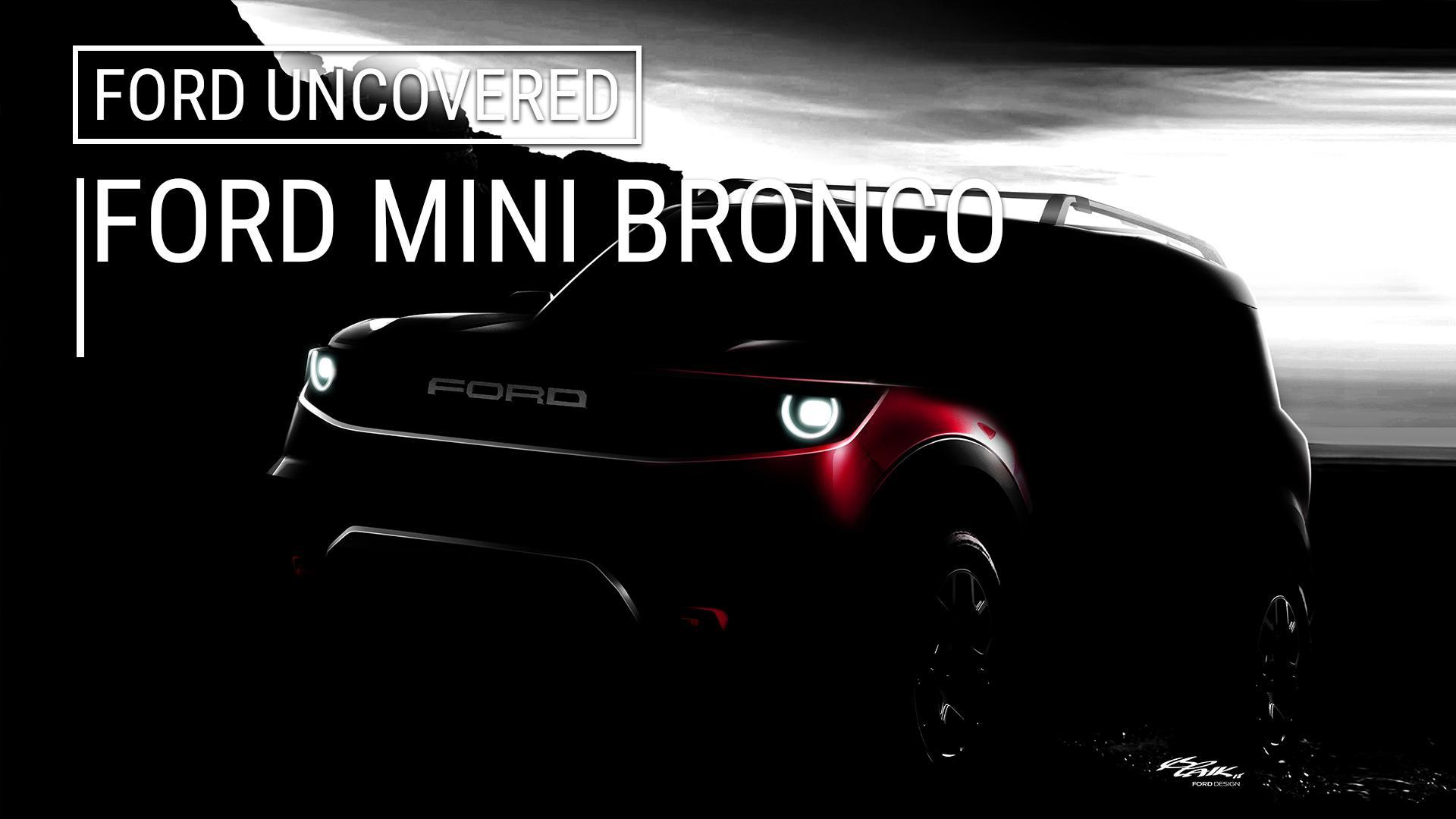 2020 Ford Baby Bronco Presentation Images Leak Online Autoblog