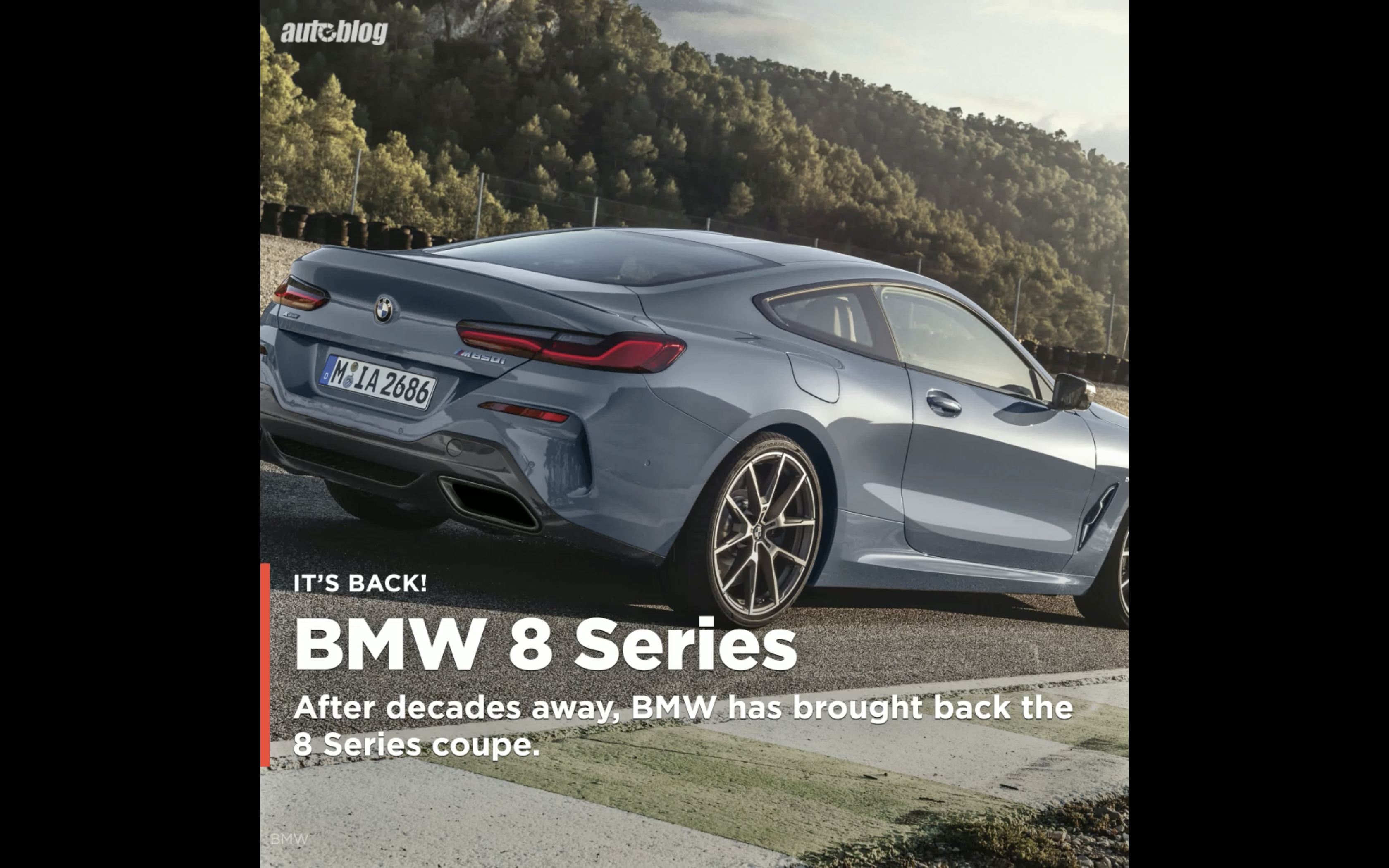 BMW reveals the 2019 8 Series Coupe, and it looks a lot like the concept