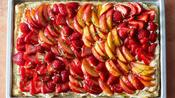 How to Make Puff Pastry Summer Fruit Slab Pies