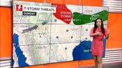 Severe storms to unfold across central Plains