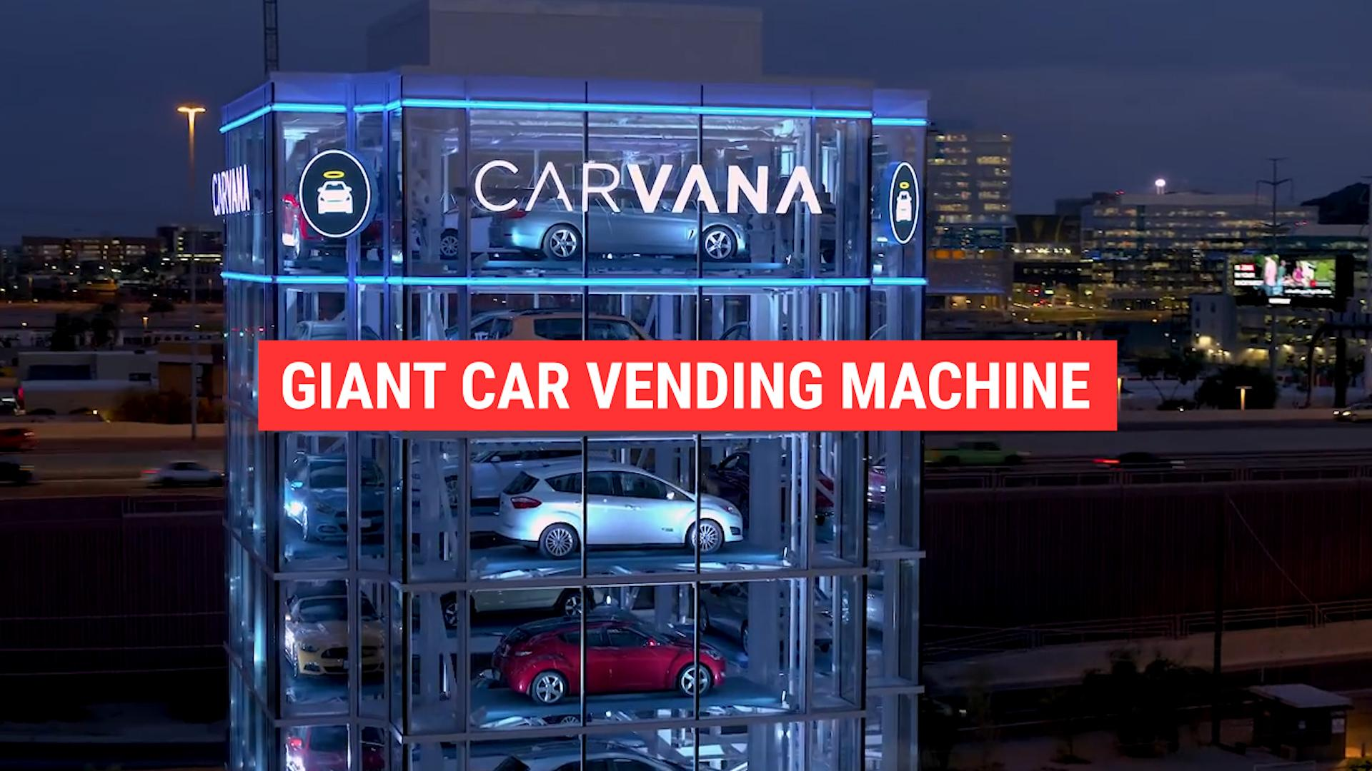 This Giant Vending Machine Sells Cars Autoblog