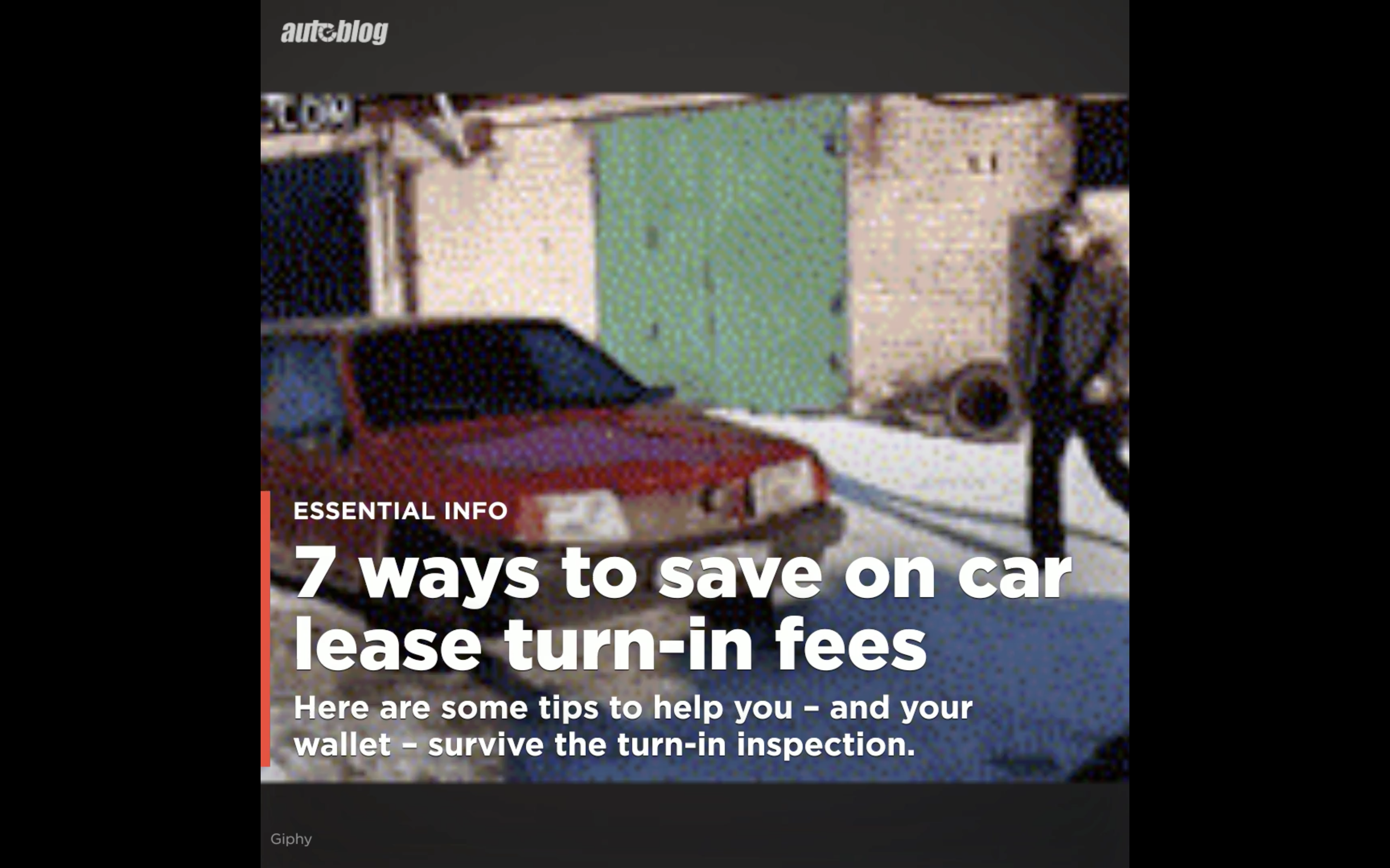 7 ways to save on car lease turn-in fees