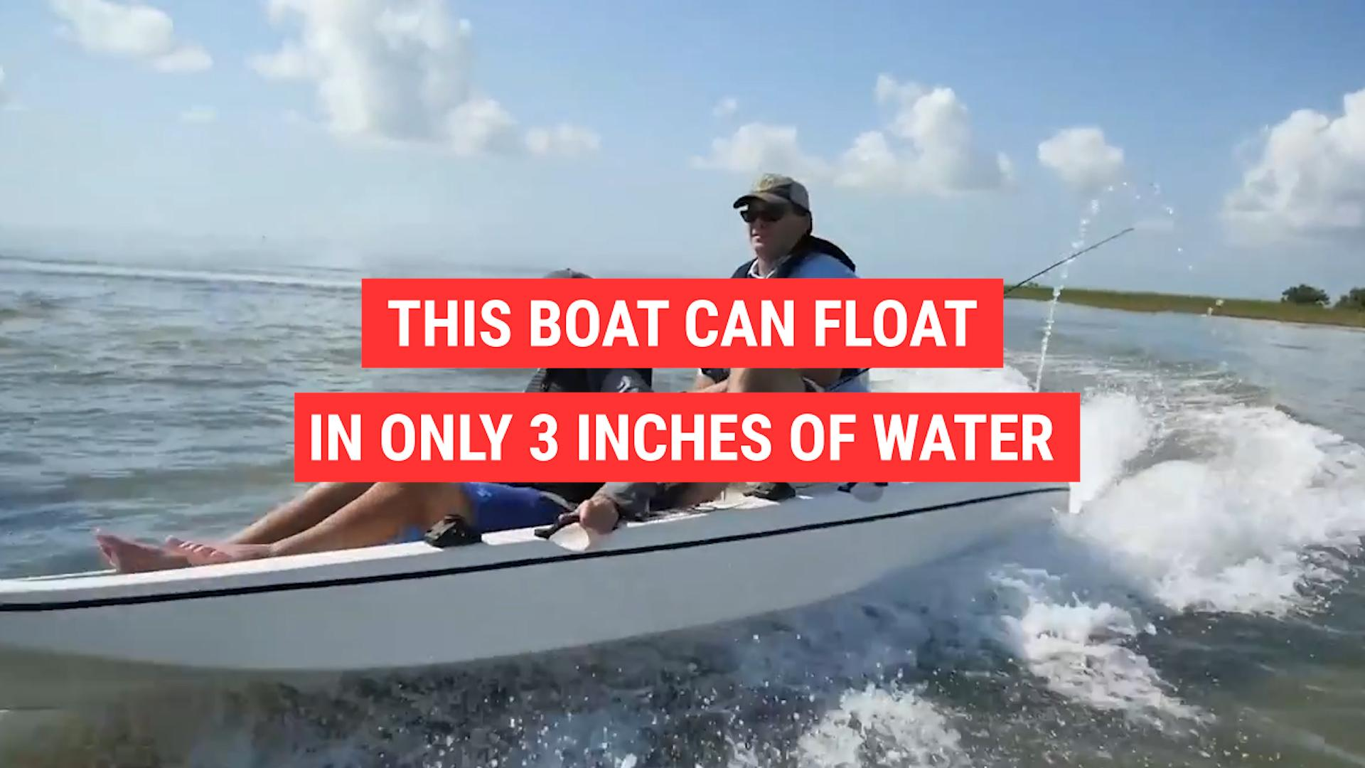 The Stik Boat is a fisherman's dream