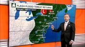 Potentially damaging storms to slice through Northeast