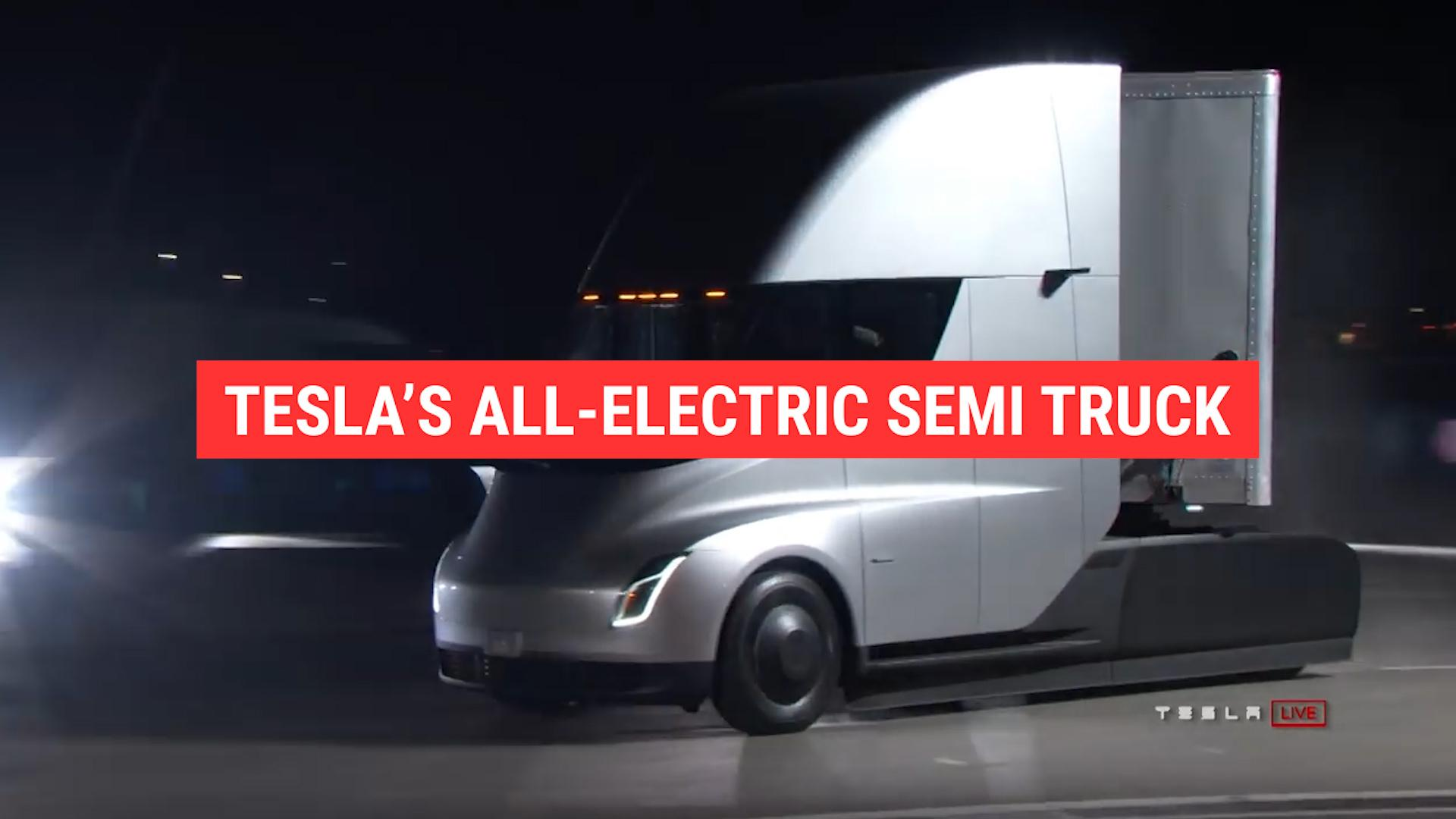 This is what the Tesla Semi acceleration sounds like | Autoblog